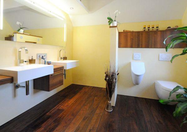 Badezimmer Nussbaum